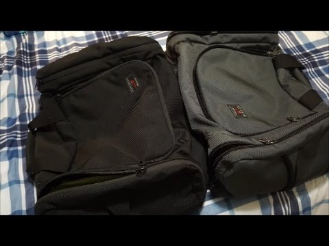 TOM BIHN Aeronaut 45 - quick look at OLD style versus NEW style differences