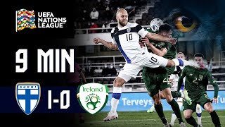 Full Highlights (9 min.) | Suomi - Irlanti 1-0 I UEFA Nations League 2020/21 I 14.10.2020