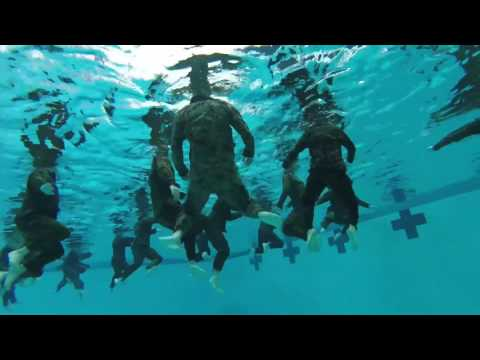High Dive: U.S. Marine Recon and Japanese soldiers team up for Iron Fist 2017