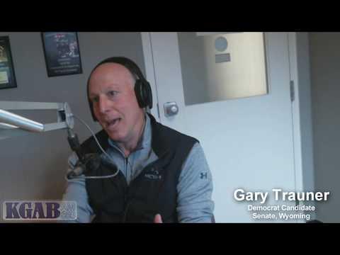 Gary Trauner Democrat Candidate Senate Wyoming 2018