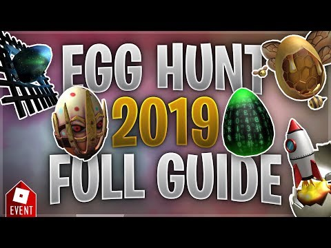 How to Get all the Eggs in the Egg Hunt [Part 4] (Roblox Egg