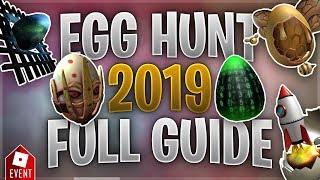 How to Get all the Eggs in the Egg Hunt [Part 4] (Roblox Egg Hunt 2019 Guide)