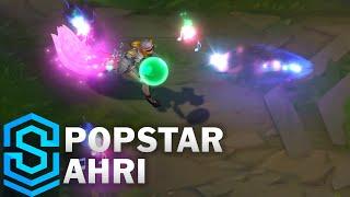 Popstar Ahri (2020) Skin Spotlight - League of Legends