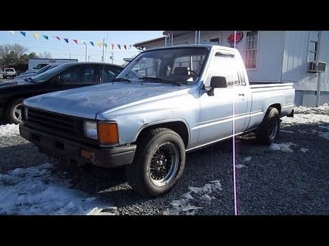 1987 toyota pickup hilux start up exhaust and in depth tour youtube. Black Bedroom Furniture Sets. Home Design Ideas