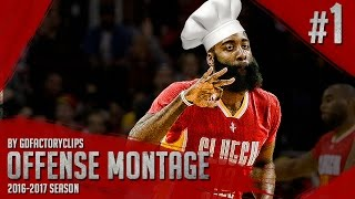 James Harden Offense Highlights Montage 2015/2016 (Part 1) - King of Stepback
