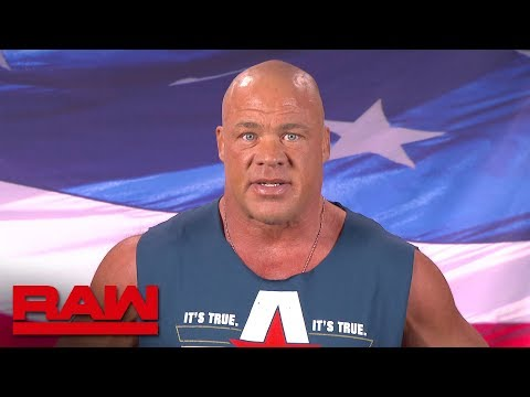 Kurt Angle evaluates his World Cup competition: Raw, Oct. 22, 2018