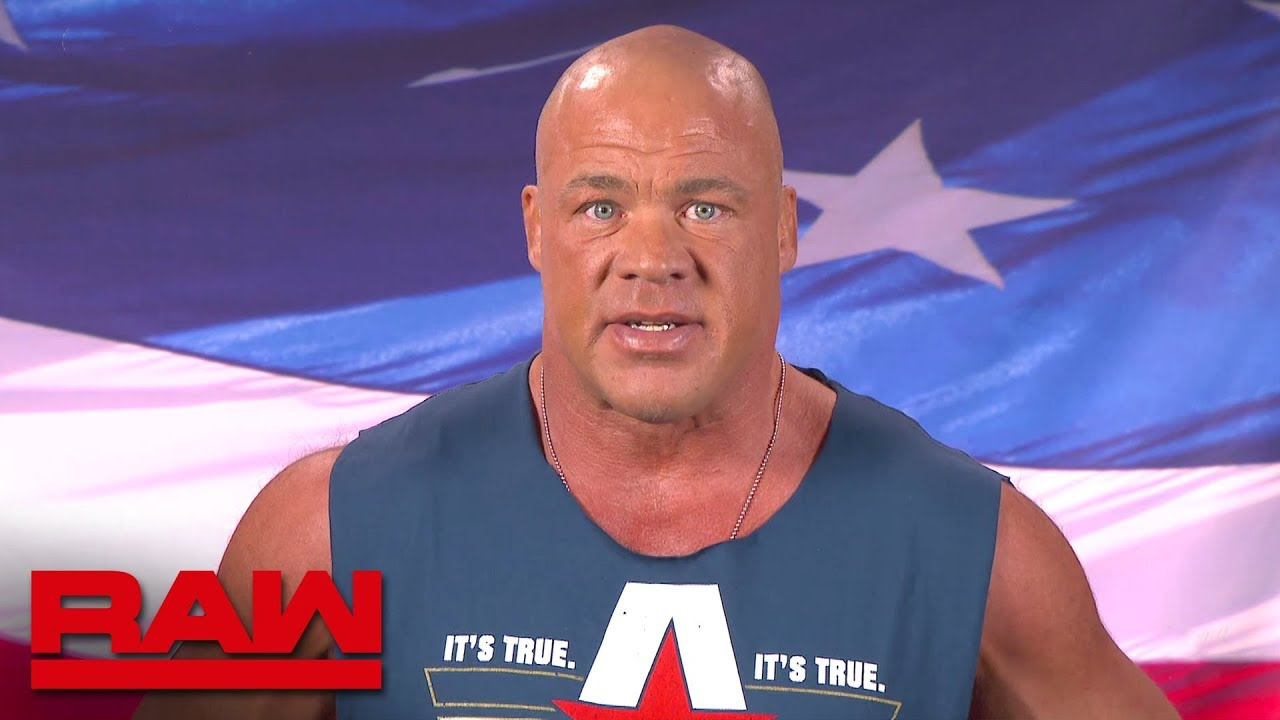 Kurt angle evaluates his world cup competition raw oct 22 2018 youtube - Pictures of kurt angle ...