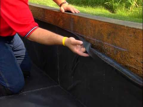 Detail 20 Adhering Epdm Geomembrane Panel To A Substrate W