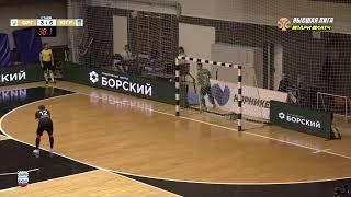 Париматч Высшая лига 24 й тур Оргхим Нижегородская обл Газпром Югра Д Югорск