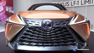 Lexus LF-1 Limitless Concept - Exterior and Interior Walkaround - Debut at 2018 Detroit Auto Show