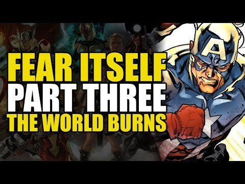 A Hero Dies, and the World Burns! (Fear Itself: Book Three)