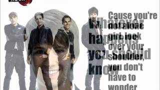 Watch Big Time Rush Youre Not Alone video