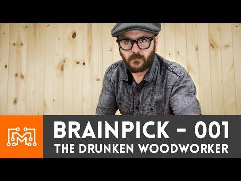 BrainPick - Q & A with David Picciuto (The Drunken Woodworker)