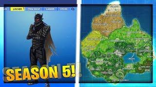 Fortnite Season 5 - Everything We Know So Far! NEW SKINS, MAP & MORE! (Fortnite Season 5)