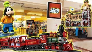 Buying the Disney Train & Station from the LEGO Store