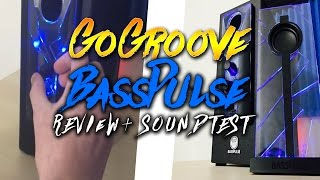 GoGroove Bass Pulse Speakers – Review and Sound Test!