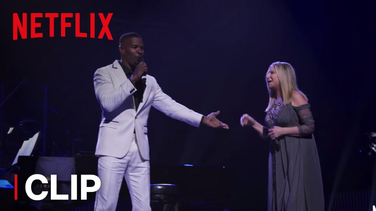 "Barbra: The Music… The Mem'ries… The Magic! | Clip: ""Please Welcome Jamie Foxx"" | Netflix"