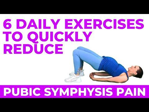 Symphysis Pubis Dysfunction Pregnancy Exercises