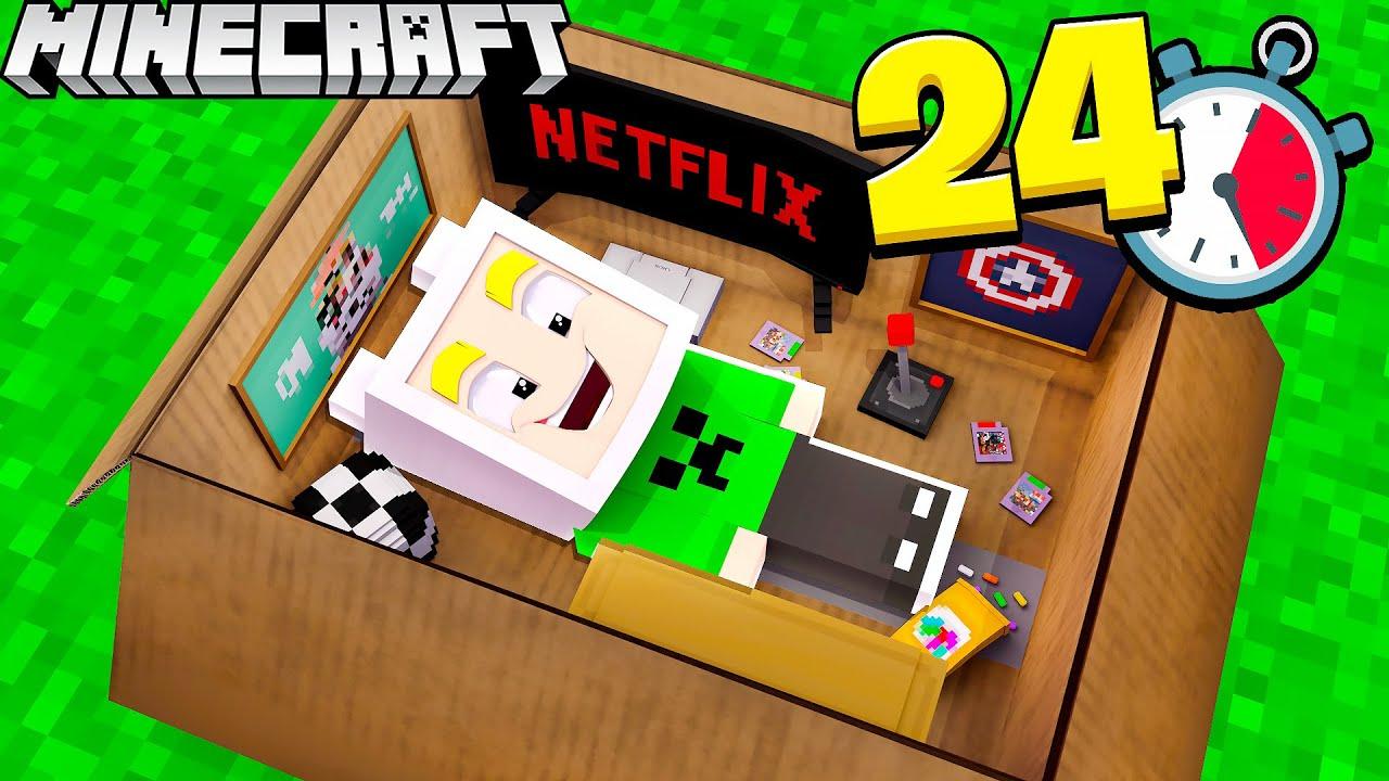 Download BABY LAMI ÜBERLEBT 24 STUNDEN im KARTON in Minecraft
