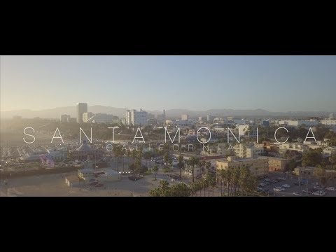 Santa Monica🏖California [4k] Shorty [Mavic Pro]