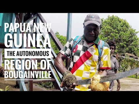 Travelling Papua New Guinea: Trekking through mountain villages in Rotokas, Bougainville