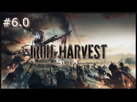 Iron Harvest: Mission 6.0 - Kolno in Chaos - Covering the Airship |