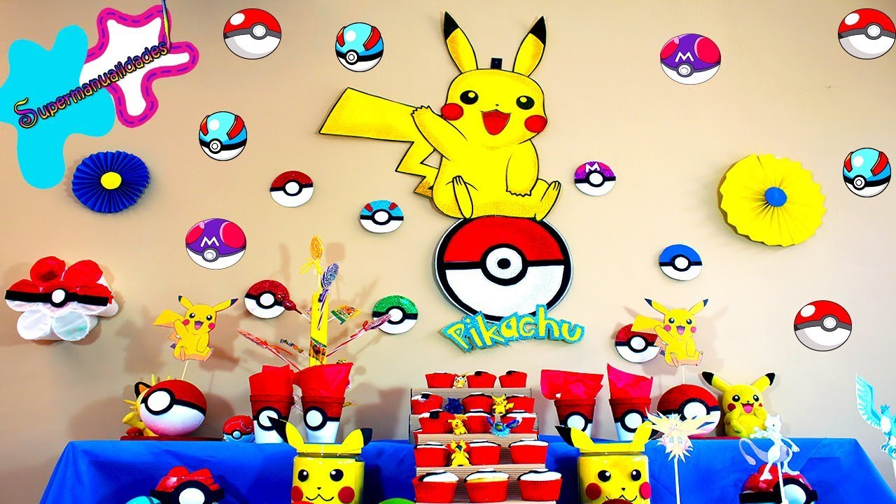 7 Pokemon Ideas For A Party Or Candy Barsupermanualidades