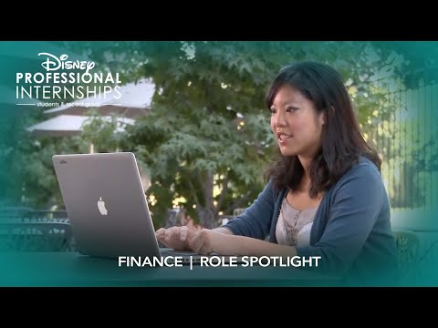 Finance | Disney Professional Internship Role