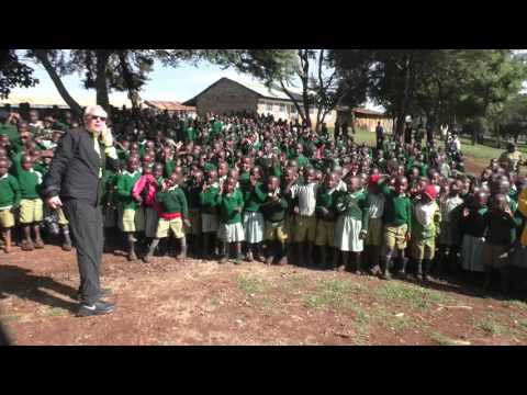 Mweiga Primary Ribbon Cutting