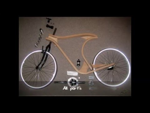 Wooden bicycle  - The Realisation