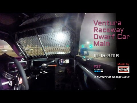 Ventura Raceway Dwarf Car Main 10-15-2016 • Featuring music by Sprung Monkey.