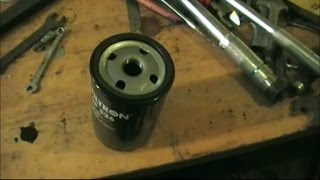 Замена масла в двигателе. Passat b3