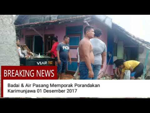 Duka Cuaca Ekstrim Karimunjawa 1 Des 2017 Youtube