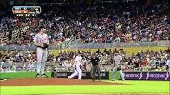 Marlins walk-off to finish Alvarez's no-hitter