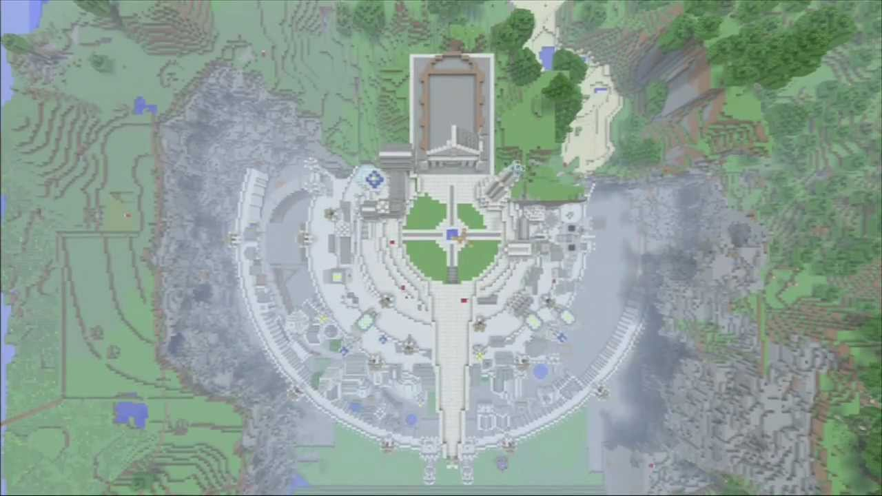 Minecraft XBOX 360] MINAS TIRITH (survival) - YouTube