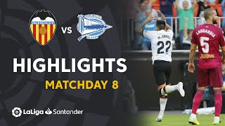 Highlights Valencia CF vs Deportivo Alaves (2-1)