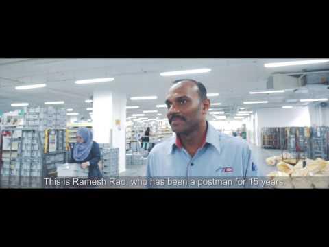 SingPost - We Deliver - Ramesh Rao