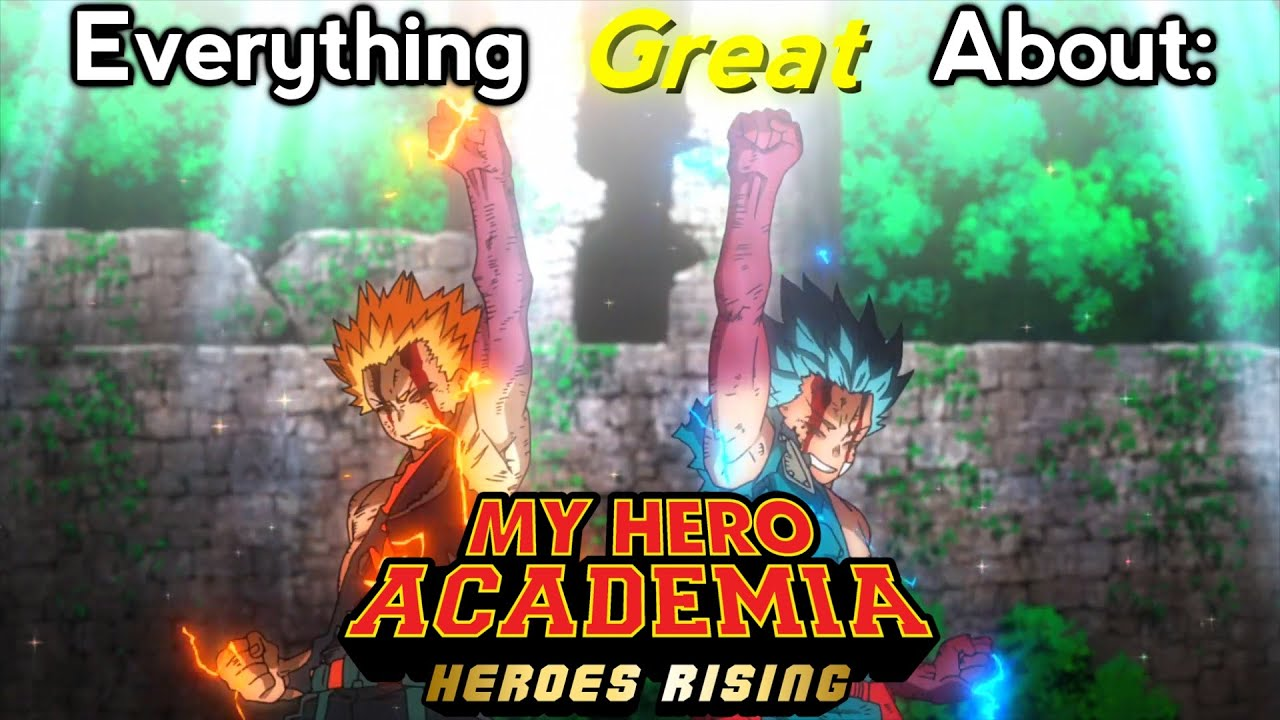 Download Everything GREAT About: My Hero Academia: Heroes Rising