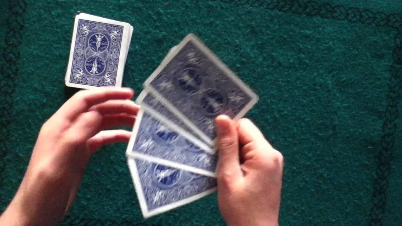 tour de magie facile a faire a la maison avec des cartes