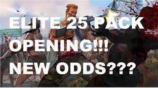 Walking Dead : Road to Survival - ELITE 25 PACK OPENING - NEW ODDS!!!