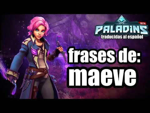 Paladins New Maeve Skin Demonette Maeve Abilities Voice Pack