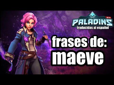 Paladins New Maeve Skin Demonette Maeve Abilities Voice Pack