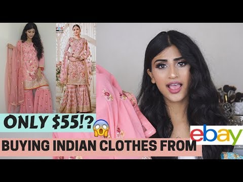 BUYING MORE INDIAN CLOTHES FROM EBAY!