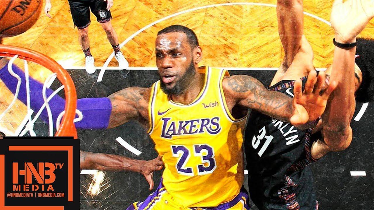 Los Angeles Lakers vs Brooklyn Nets Full Game Highlights   12.18.2018, NBA Season