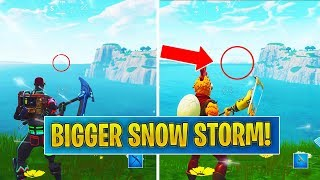 *NEW* Snow Storm is BIGGER / Skin Bundle Drama (Fortnite)