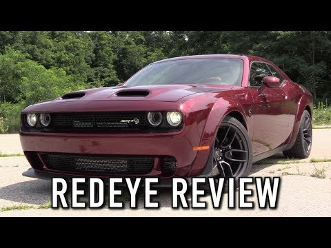 2019 Dodge Challenger Hellcat Redeye Widebody: Start Up, Test Drive & In Depth Review