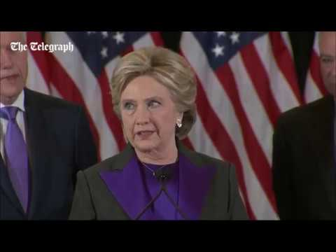 US Election 2016: Hillary Clinton's Concession Speech
