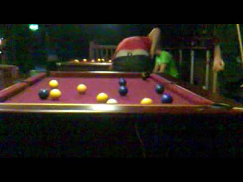 A short game of pool/Big Daves Facebook Obsession