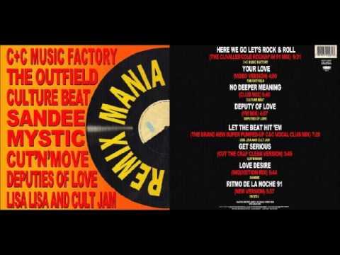 DANCE ♫♩♫♭ REMIX MANIA 1991 ( CD FULL ! )