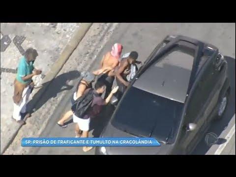 Usuários da Cracolândia fazem arrastão após ação da polícia